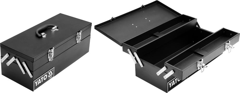 Ящик для инструментов металлический YATO 460 х 200 х 180 мм
