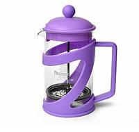 Заварочный чайник френч-пресс с поршнем Fissman Arabica 800 мл FP-9041.800