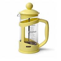 Заварочный чайник френч-пресс с поршнем Fissman Gamma 350 мл FP-9037.350