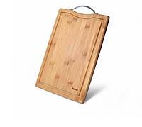 Разделочная доска большая Fissman бамбуковое волокно 33x23 см 8775