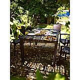 Комплект садових меблів BALI MONO - MELODY (4+1) темно-коричневий (Keter), фото 10