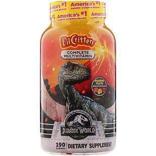 L il Critters Complete multivitamin Світ Юрського періоду 190 шт вітаміни дитячі жувальні
