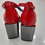 Босоніжки Inshoes червоні, фото 3