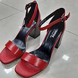 Босоніжки Inshoes червоні, фото 2