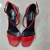 Босоніжки Inshoes червоні, фото 7