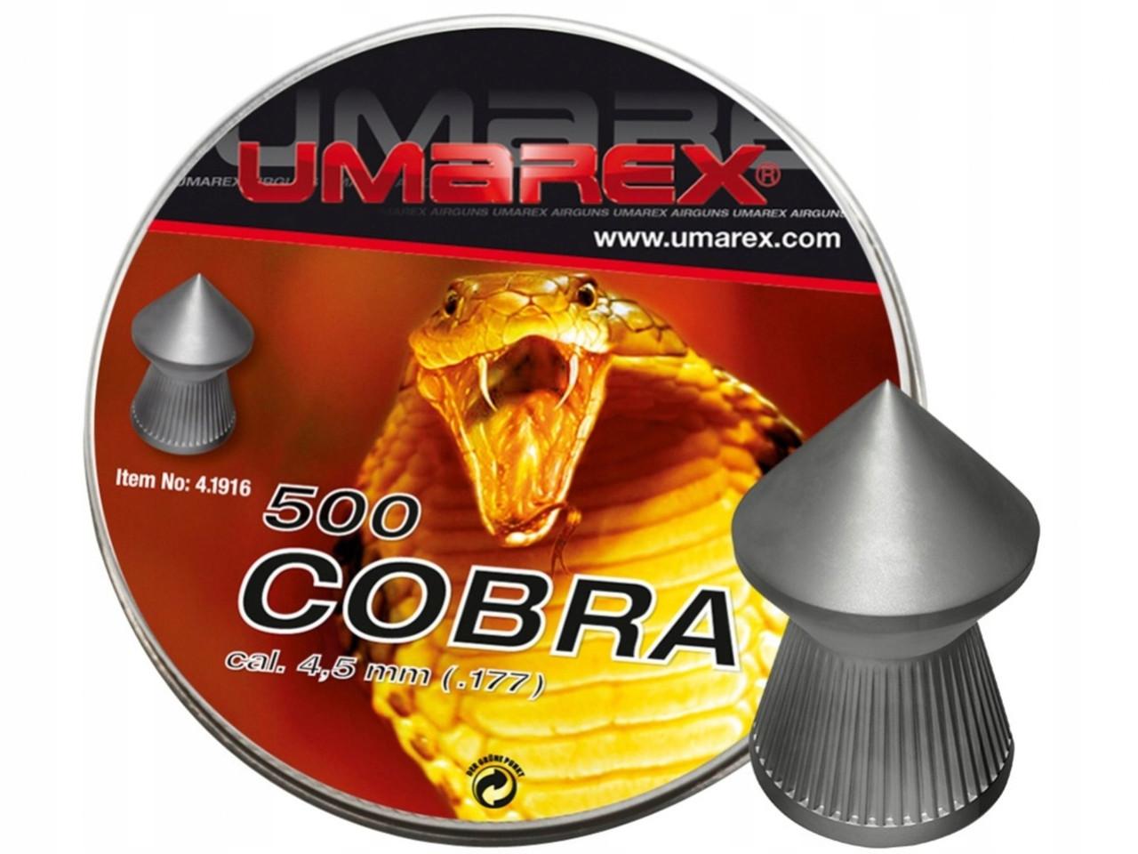 Пули Umarex Cobra 0.56 ( 500 шт.)