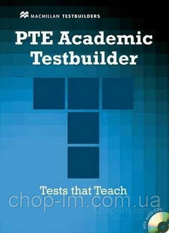 PTE Academic Testbuilder with key and Audio CDs - Steve Taylore-Knowles / Macmillan Education, фото 2
