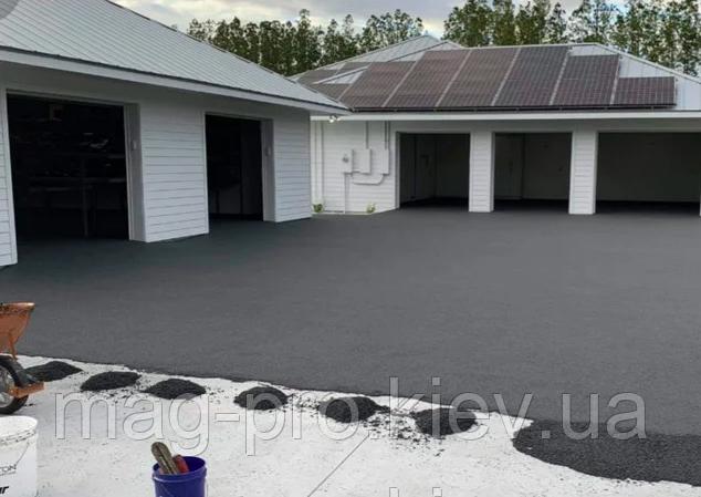Безшовні гумові покриття (з чорної гумової крихти товщина 10 мм)