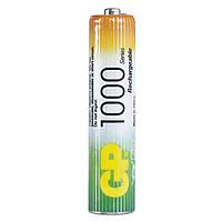 Аккумуляторная батарейка AAA (минипальчиковая) GP (R03) 1000mAh NiMh (100AAAHC), 1.2V