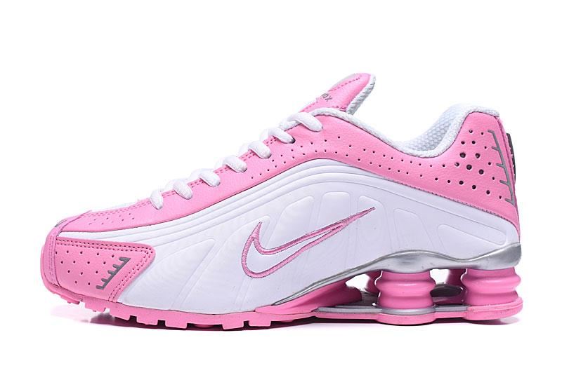Кроссовки женские Nike Shox R4 / SHX-074 (Реплика)