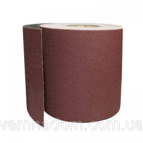 Шлифовальная шкурка на бумажной основе К40, 20cм*50м INTERTOOL BT-081420