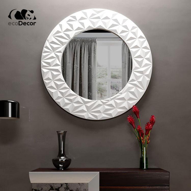 Зеркало в ванную белое Vatican K1