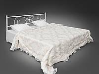 Кровать двуспальная металлическая Хризантема