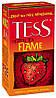 Чай Tess Flame (травяной с клубникой в пакетиках) 25х2 г.