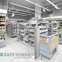 Професійні дозатори SAFE HANDS