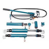 Комплект гидравлического оборудования прямого и обратного действия 4т, 5т, 10т в металлическом кейсе