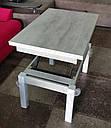 Стол трансформер Флай  дуб морас, журнально-обеденный, фото 9
