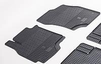 "Резиновые коврики ""Stingray Premium"" на Mitsubishi Lancer IX 04-/Mitsubishi Outlander 03- (передние-2шт)"