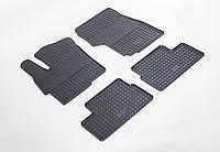 """Резиновые коврики """"Stingray Premium"""" на Mitsubishi Lancer X 07- (полный-4шт)"""