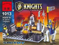 Конструктор Brick Enlighten серия Рыцари 1013 (Кузница)