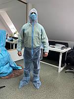 Комбінезон захисний + бахіли 30 г/м.кв, фото 1