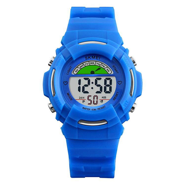Skmei 1272 kids синие детские спортивные часы