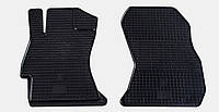 "Резиновые коврики ""Stingray Premium"" на Subaru Impreza 12-/Forester 12-/Legacy 06-/12-/Outback 06-/12-/XV 12- (передние-2шт)"
