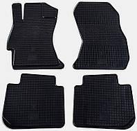 "Резиновые коврики ""Stingray Premium"" на Subaru Impreza 12-/Forester 12-/Legacy 06-/12-/Outback 06-/12-/XV 12- (полный-4шт)"