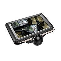 Видеорегистратор-зеркало K8 360 c двумя камерами Black