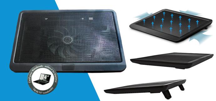 Охлаждающая подставка для ноутбука N19