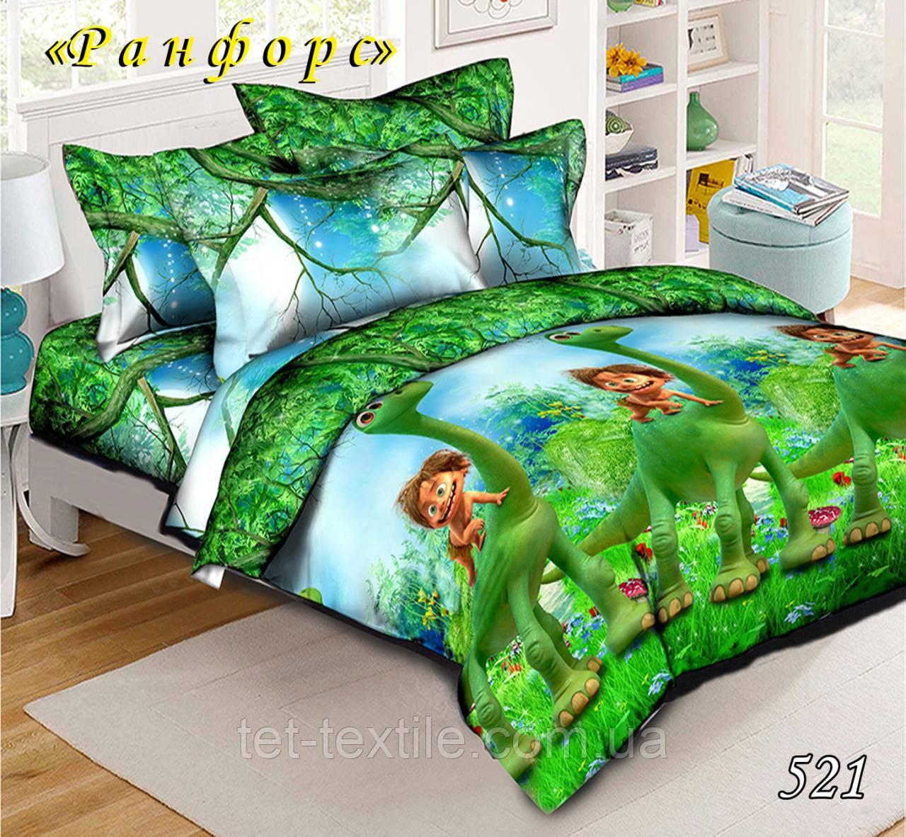 Детское постельное белье ТМ ТЕТ Ранфорс