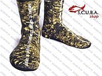 Носки для подводной охоты SARGAN Аргази Камо RD2.0 3 мм