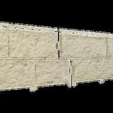 Фасадная панель Ю-Пласт Stone-House золотистая (камень)