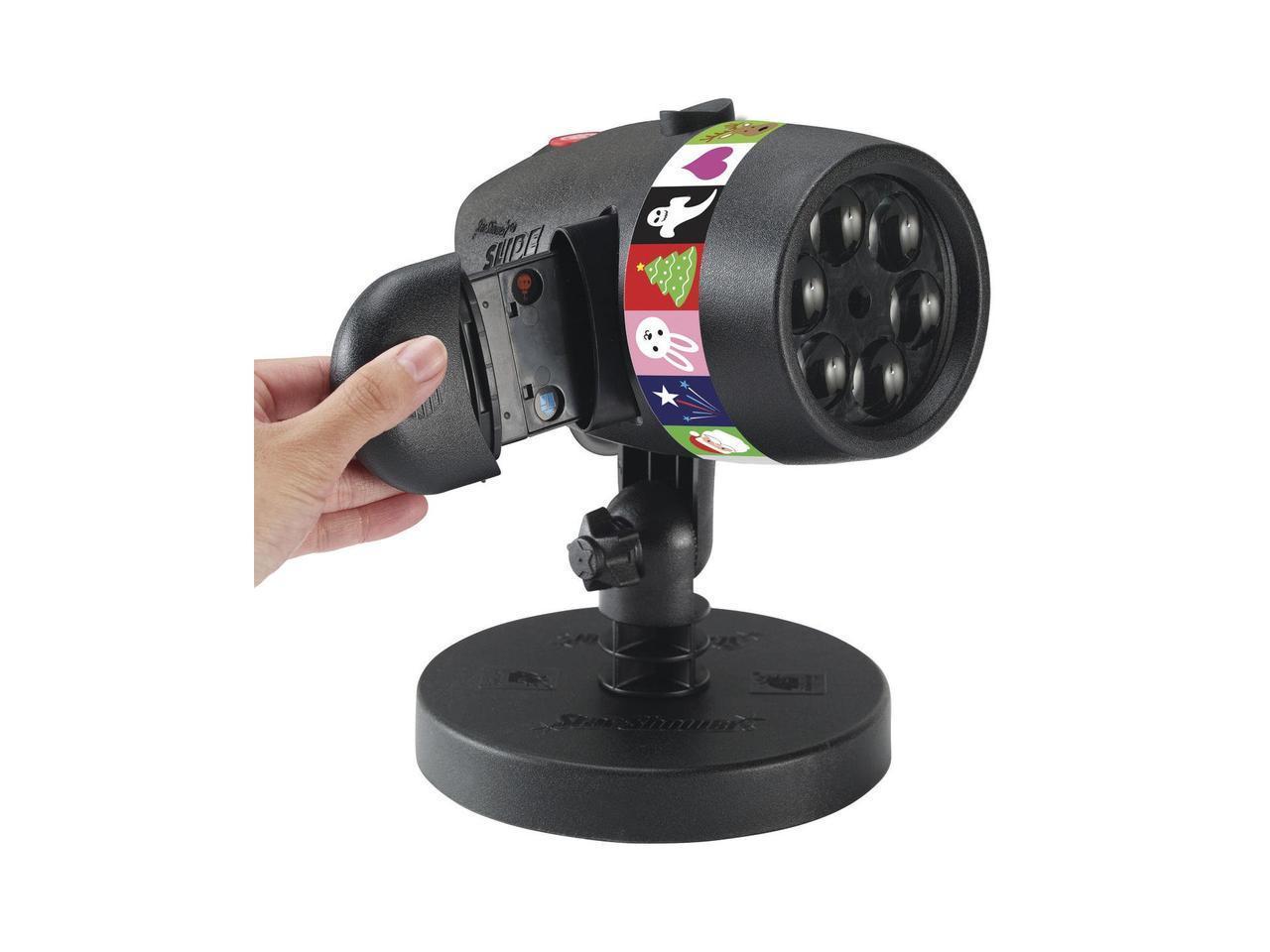 LED проектор Christmas Star shower slide show