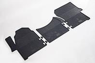 "Резиновые коврики ""Stingray Premium"" на VW Crafter 06-/Mercedes Sprinter II 06- (3 шт)"