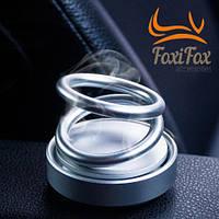 Ароматизатор воздуха в машину Левитирующие кольца Серый, фото 1