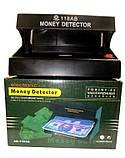 Ультрафіолетовий УФ детектор достовірності банкнот валют UKC 118AB Battery, фото 2