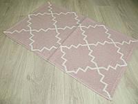 Турецький килимок для ванної розмір 50х80 з бавовни. 5080-8