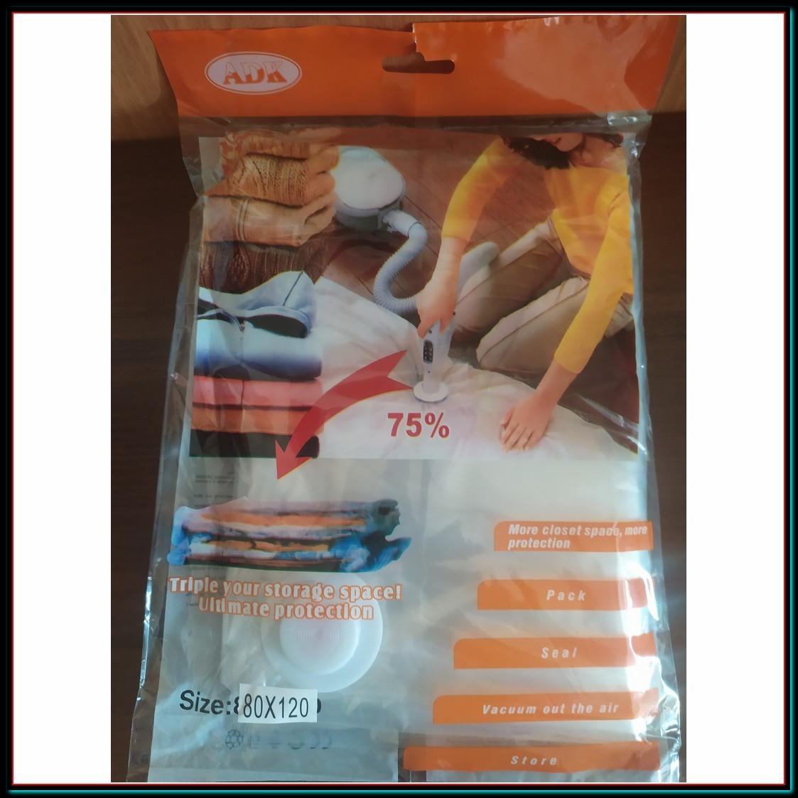 Вакуумные пакеты для хранения одежды 80*120 5шт