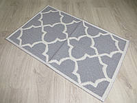 Турецький килимок для ванної розмір 50х80 з бавовни. 5080-10
