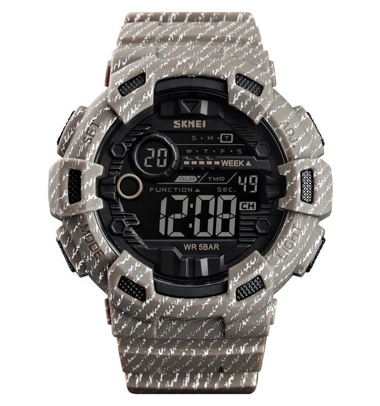 Skmei 1472 champion хаки мужские спортивные часы