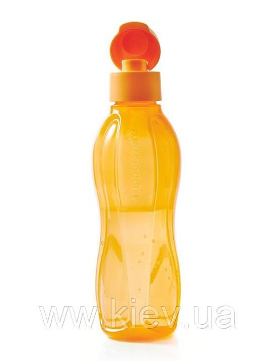 Эко-бутылка (750 мл) с клапаном, многоразовая бутылка для воды Tupperware (Оригинал)