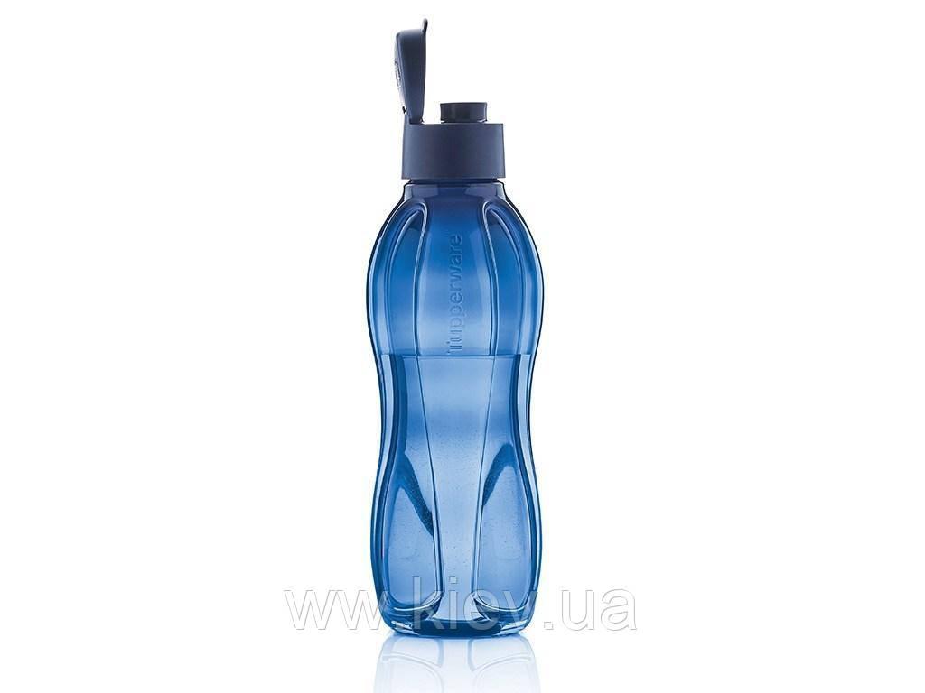 Эко-бутылка (1 л) с клапаном, многоразовая бутылка для воды Tupperware (Оригинал)