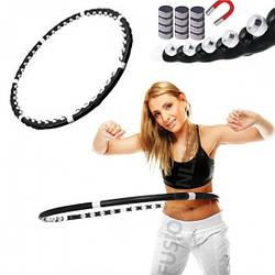 Массажный спортивный обруч Hula Hoop Professional для похудения   Хула Хуп