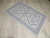Турецький килимок для ванної розмір 50х80 з бавовни. 5080-11
