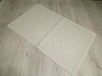 Турецький килимок для ванної розмір 50х80 з бавовни. 5080-12