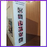 Универсальное детское бескаркасное автокресло Multi Function Car Cushion Бордовое, фото 9