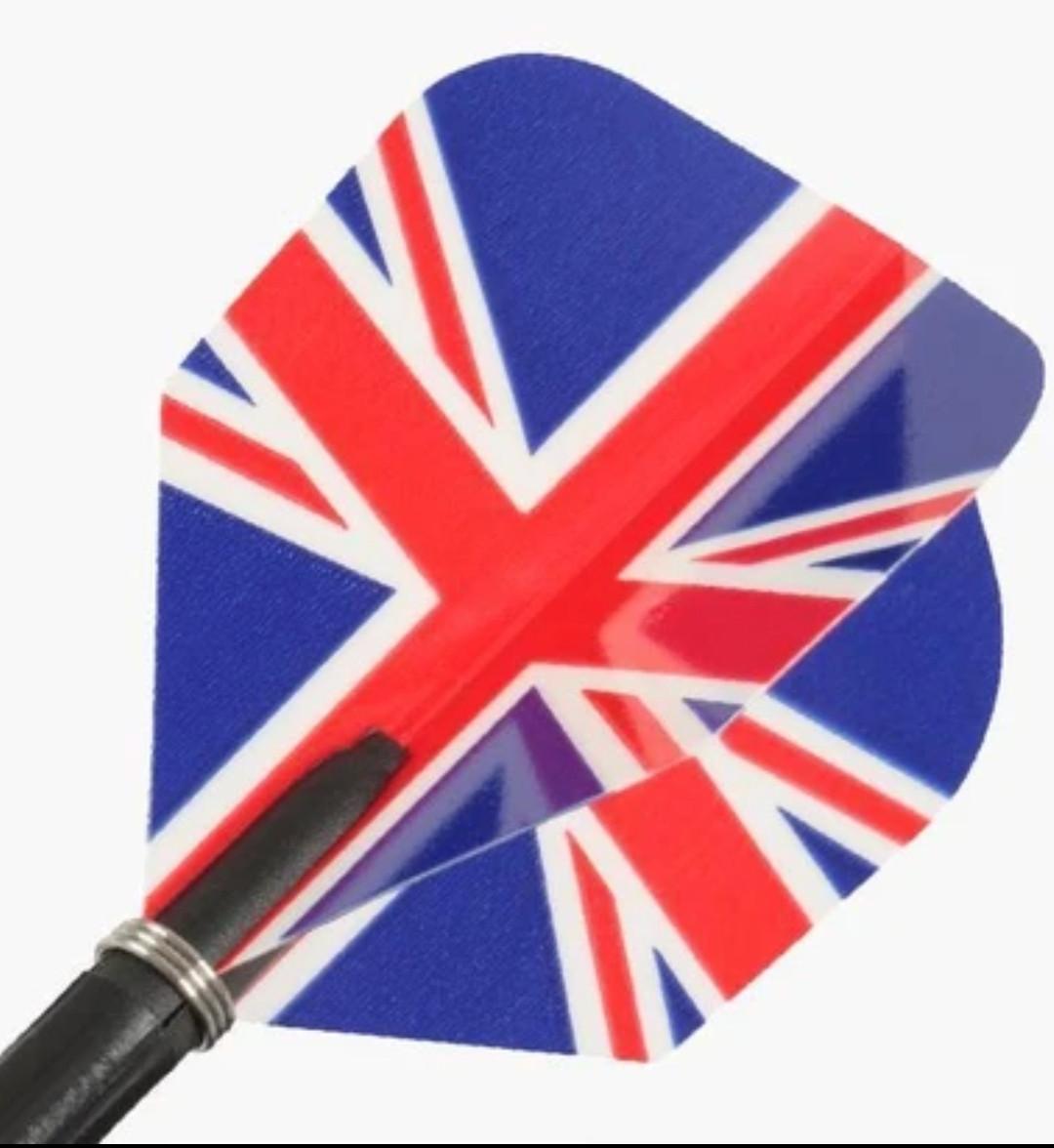 Набор British для дротиков дартс 6 шт. Англия