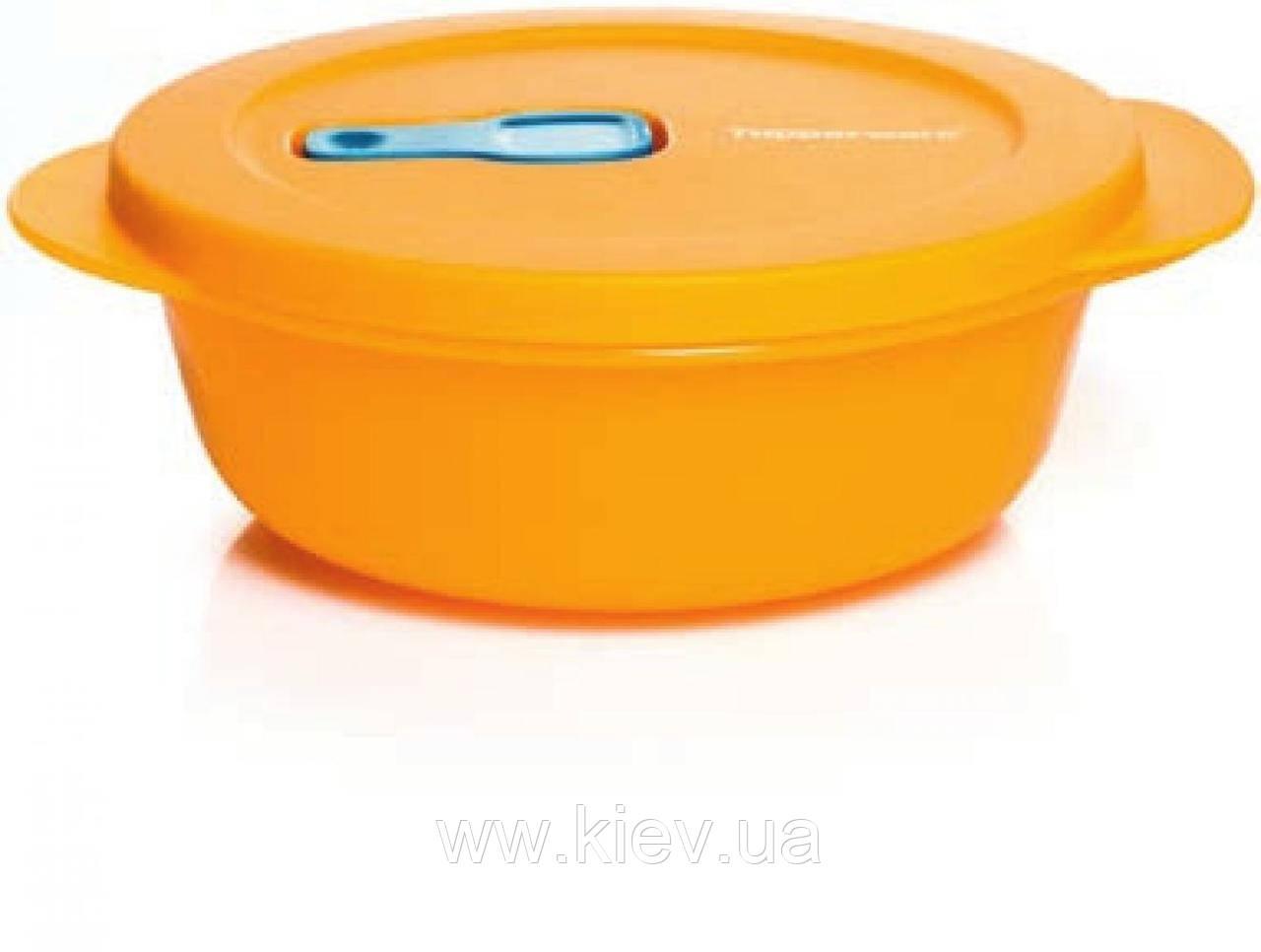 Ёмкость Новая волна 600мл Tupperware оранжевый
