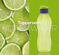 Эко-бутылка (750 мл) с клапаном лимонная, многоразовая бутылка для воды Tupperware (Оригинал), фото 1
